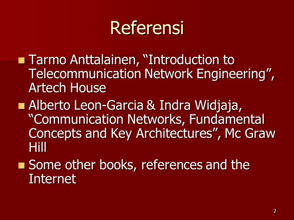 3 Tutun Juhana (original) :  ET3041 Web : http://telecom.ee.itb.ac.id/~tutun/ET3041  You can find the followings :  Lecture notes  Links to some interesting webs, etc.