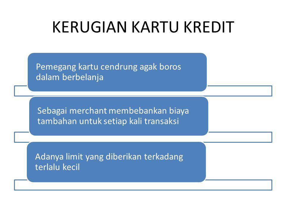JENIS PERJANJIAN DALAM KARTU KREDIT 1.Perjanjian kartu kredit sebagai perjanjian pokok.
