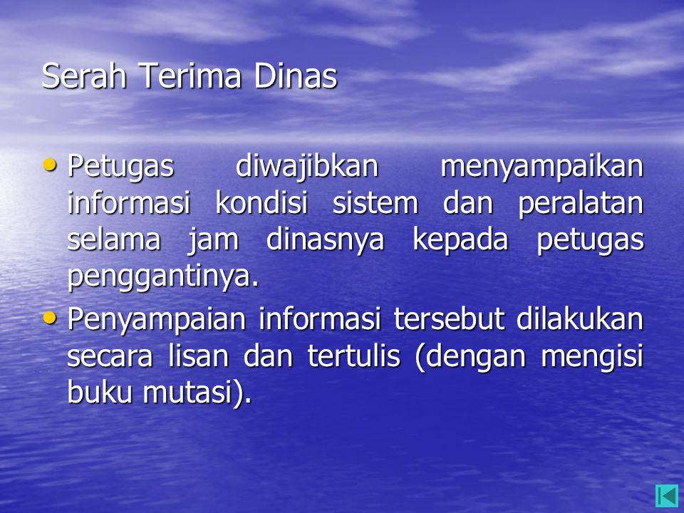 Tata Tertib dan Etika Berkomunikasi • Beberapa hal yang harus dipenuhi agar komunikasi dapat berjalan lancar : –Menggunakan Bahasa Indonesia Komunikasi operasi menggunakan bahasa Indonesia dan kalimat yang mudah dipahami.