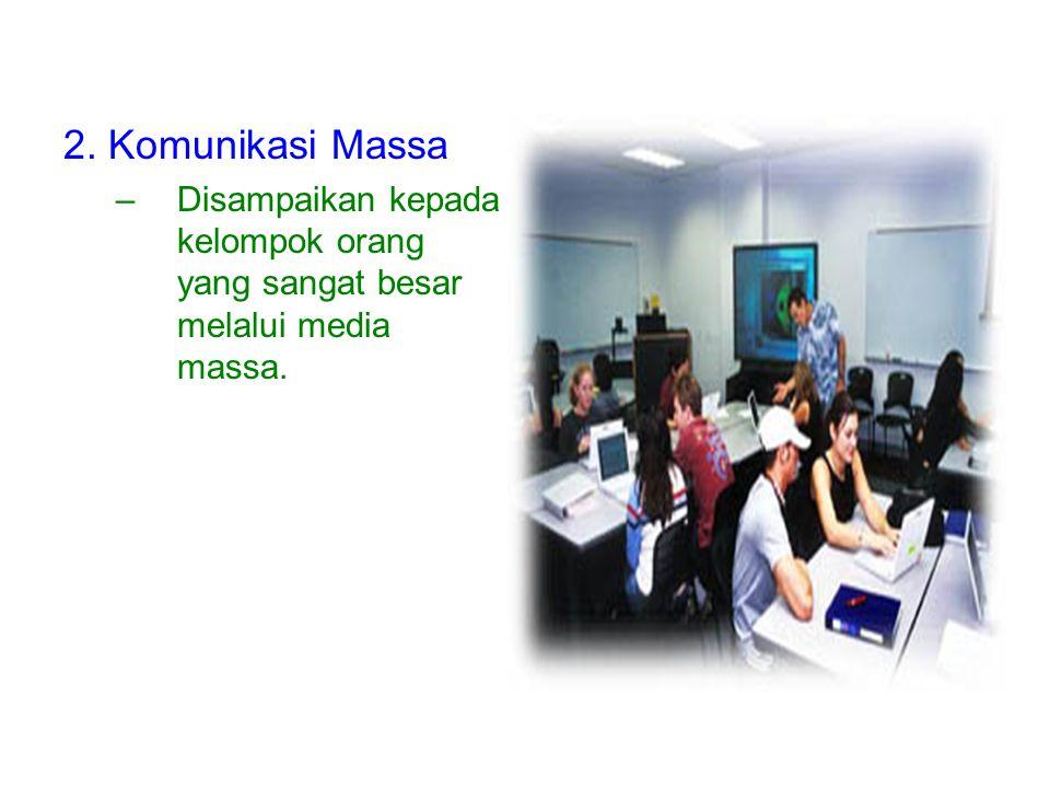 KLASIFIKASI KOMUNIKASI (Machfoedz, 2005) 1.Komunikasi kelompok –kelompok besar/kecil, yang didalamnya setiap orang tetap pada identitas mereka masing-