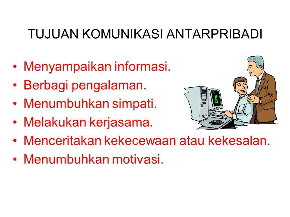 Empat Hal Penting: a) Komunikasi dilakukan oleh dua orang atau lebih. b) Menggunakan media tertentu, misalnya telepon, telepon seluler, atau bertatap