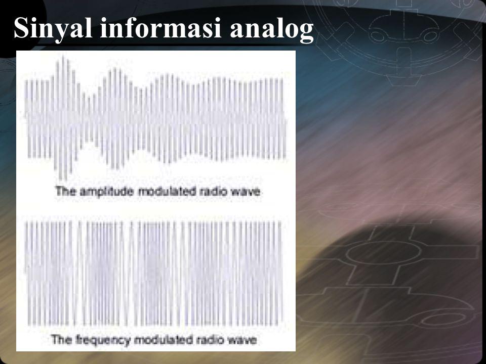 Sinyal informasi analog