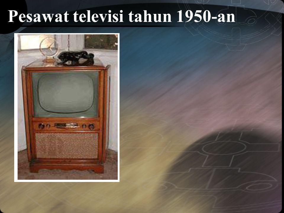 Pesawat televisi tahun 1950-an