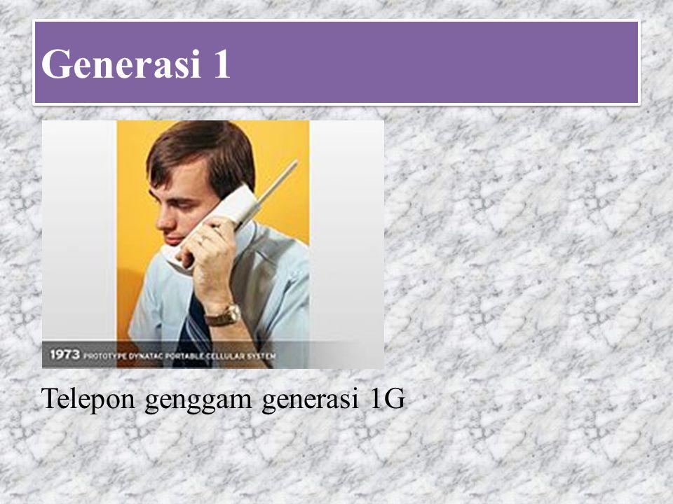 Generasi 2 Telepon genggam tahun 1996
