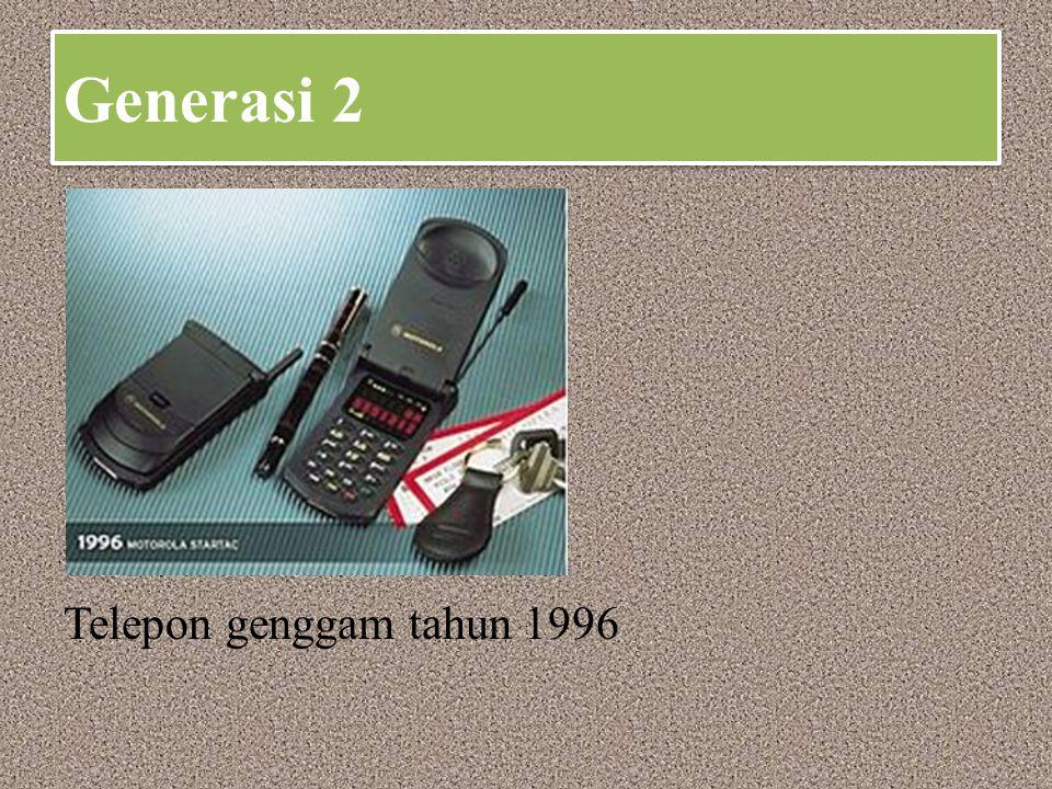 Generasi 3 Ponsel 3-G