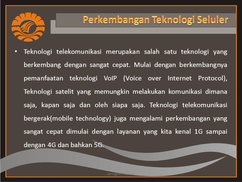• Teknologi telekomunikasi merupakan salah satu teknologi yang berkembang dengan sangat cepat. Mulai dengan berkembangnya pemanfaatan teknologi VoIP (