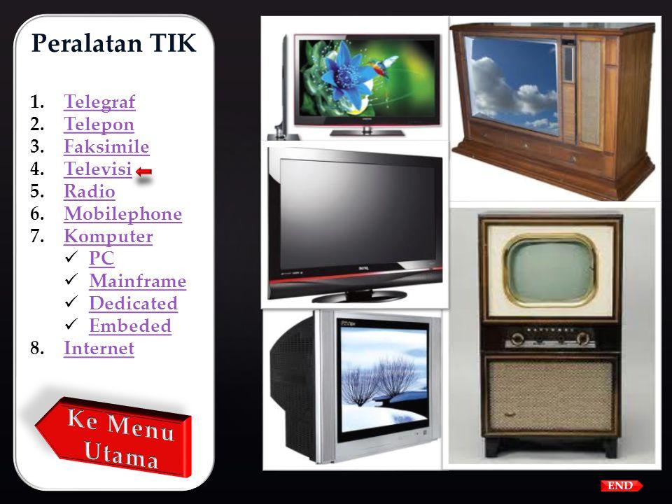 Televisi adalah system telekomunikasi yang mengirimkan dan menerima gambar dan suara dengan cara mengirimkan sinyal-sinyal elektronik melalui kabel da