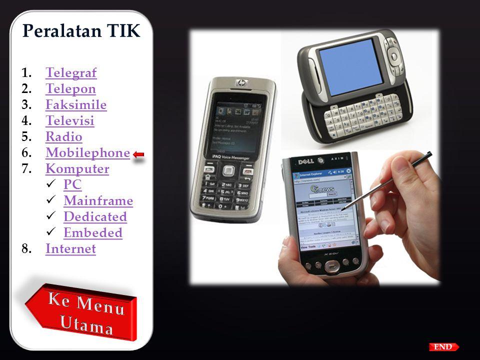 Telepon bergerak (Mobilephone) atau disebut handphone, cellulerphone atau ponsel adalah gabungan dari teknologi teleon hasil penemuan Alexander Gtaham