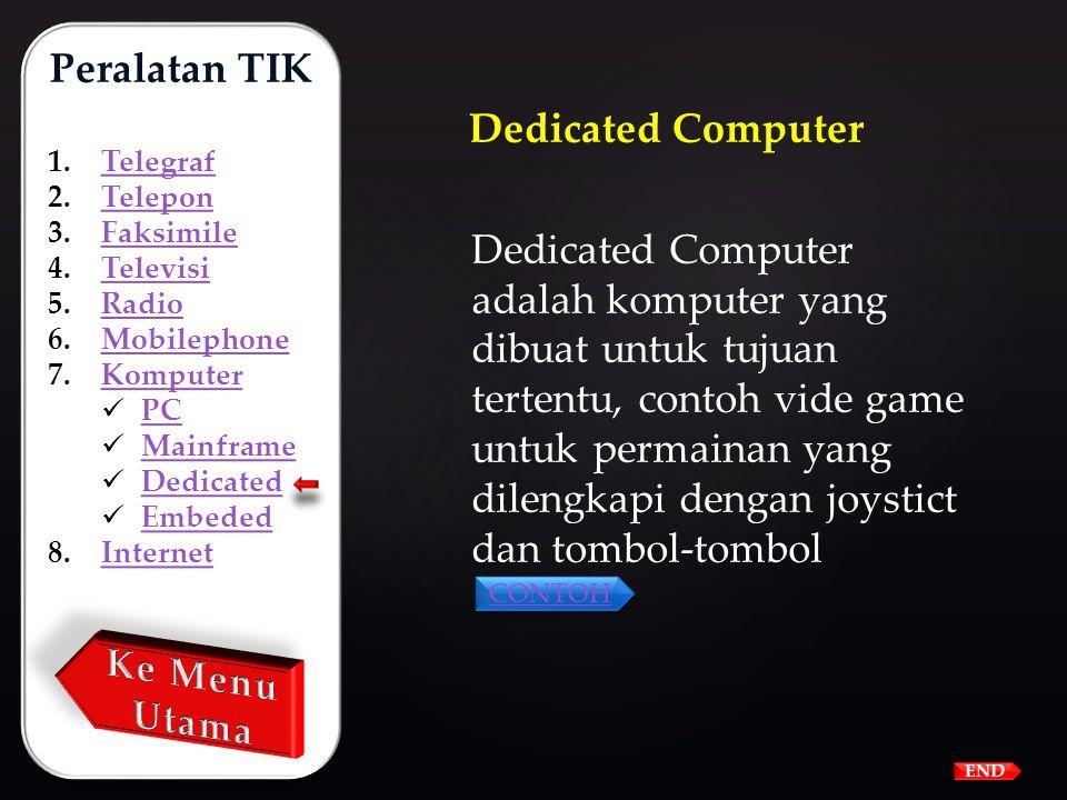 Mainframe adalah komputer yang paling canggih yang dilengkapi dengan berbagai kemampuan yang sangat handal. Ukuran mainframe juga sangat besar sehingg