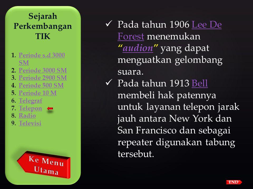 END  Tahun 1879 sistem pemanggilan menggunakan nomor mengganti sistem pemanggilan nama. Sistem penomoran menggunakan 2 huruf dan 5 digit angka.  Tel