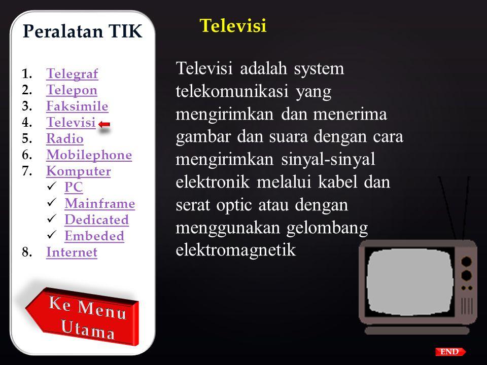 Faksimile adalah peralatan telekomunikasi yang digunakan untuk mengirimkan tulisan atau gambar melalui kabel telepon. Faksimile (Fax) Peralatan TIK 1.