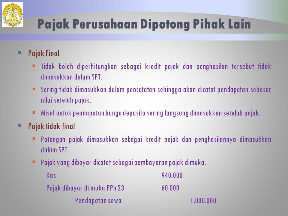 Berikut merupakan keterangan yang menjelaskan perincian berbagai elemen yang terdapat di laporan keuangan PT.