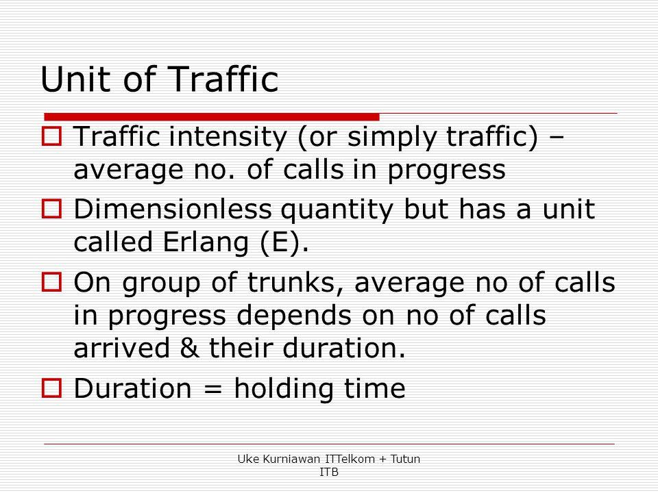  Ilustrasi diperlukannya rekayasa trafik di dalam penggelaran jaringan Agar komunikasi antar pelanggan dapat selalu dilakukan, sediakan 1000 saluran