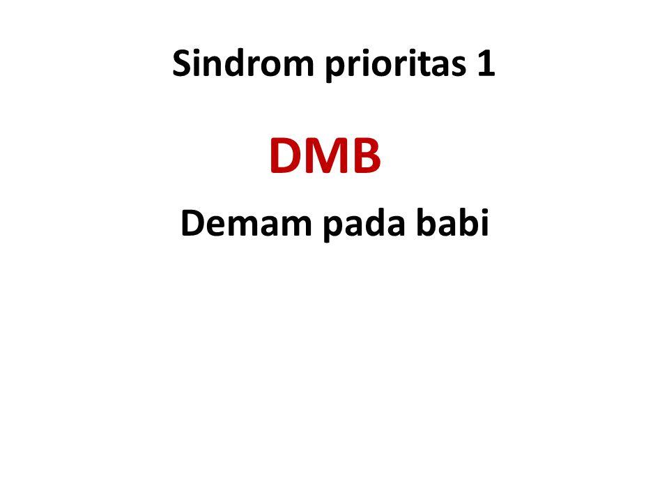 Sindrom prioritas 1 DMB Demam pada babi