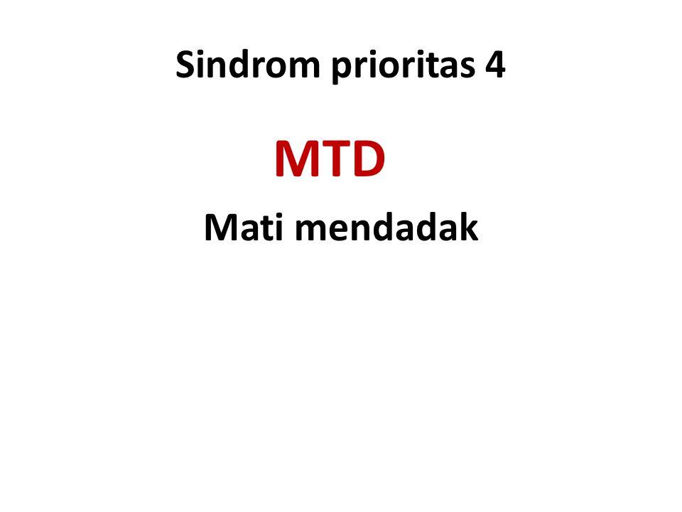 Sindrom prioritas 4 MTD Mati mendadak