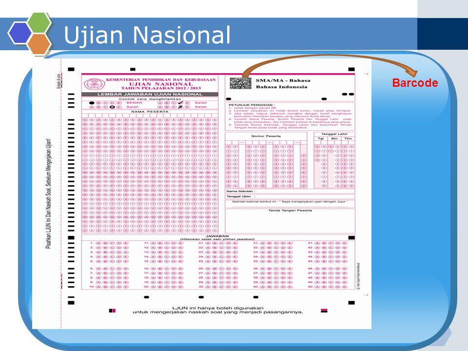 Ujian Nasional Barcode