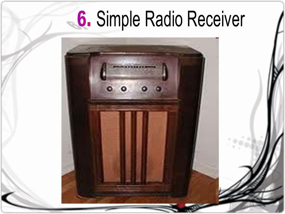 Rangkai an Penala Rangkai an Detektor Penguat Audio Antena Penerima