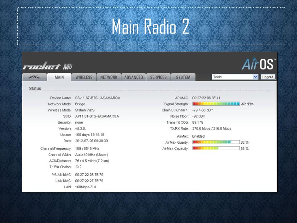 Main Radio 2