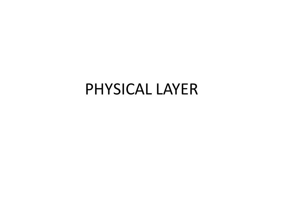 Lapisan Fisik • Fungsi : untuk mentransmisikan sinyal data (analog dan digital) • Pada Lapisan Transmitter : menerapkan fungsi elektris, mekanis, dan prosedur untuk membangun, memelihara, dan melepaskkan sirkuit komunikasi guna mentransmisikan data biner • Pada sisi reciever : menerima data dan mengirimkan ke layer atasnya
