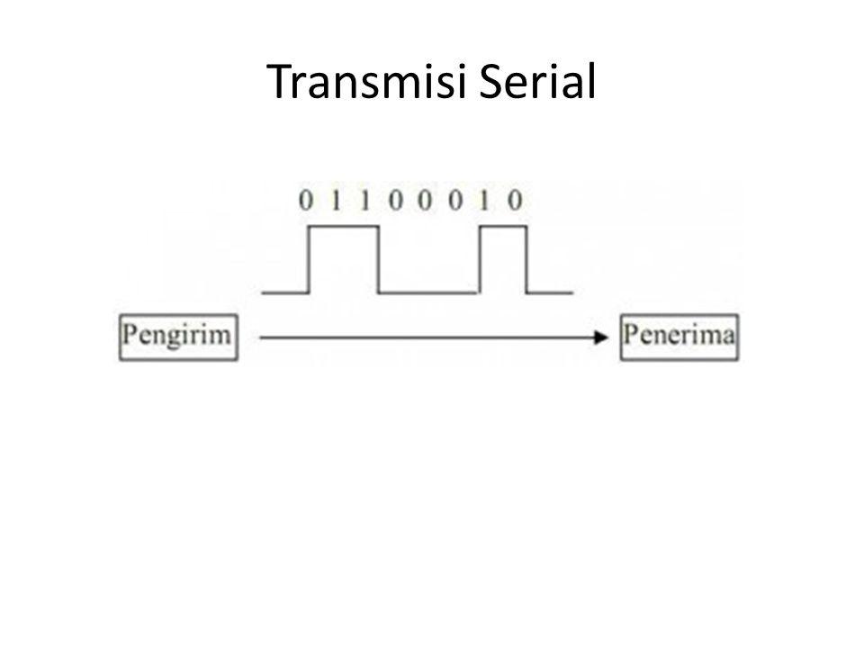 Satuan Transmisi • Mutu jalur transmisi di tunjukkan oleh bandwithnya • Bandwidh menunjukkan ukuran kapasitas jalur transmisi yang dinyatakan: – Baud (Bd) : kecepatan modulasi – Bit per sekon (bps) : kecepatan sinyal – Karakter per sekon : kecepatan transimisi