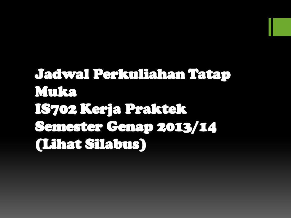 Dokumen Pelaksanaan KP  Mhsw dapat mendownload sendiri di web si.itmaranatha.org IS702 atau di FB Group FAQ KP SI (akan di-post).