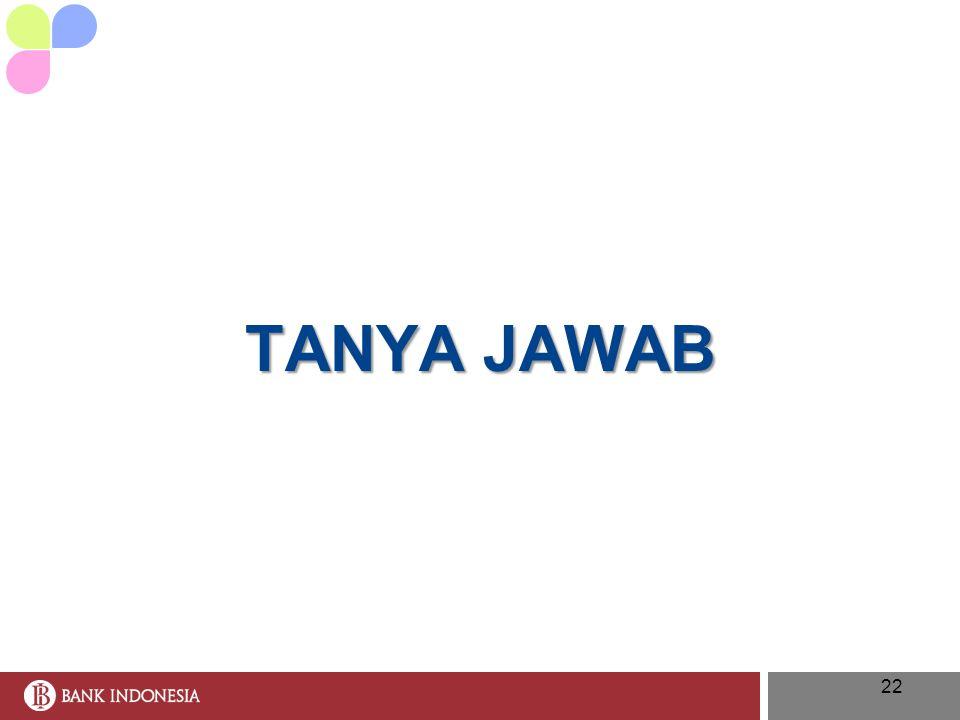 22 TANYA JAWAB