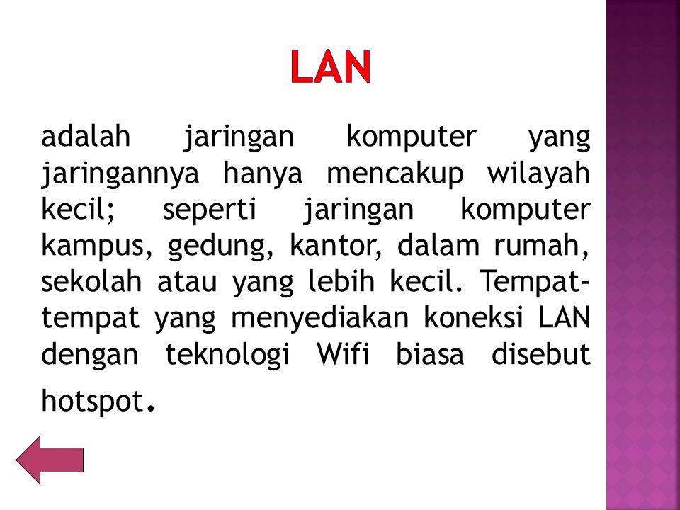LAN ( Local Area Network) Diagram LAN pada sebuah Lab. Computer