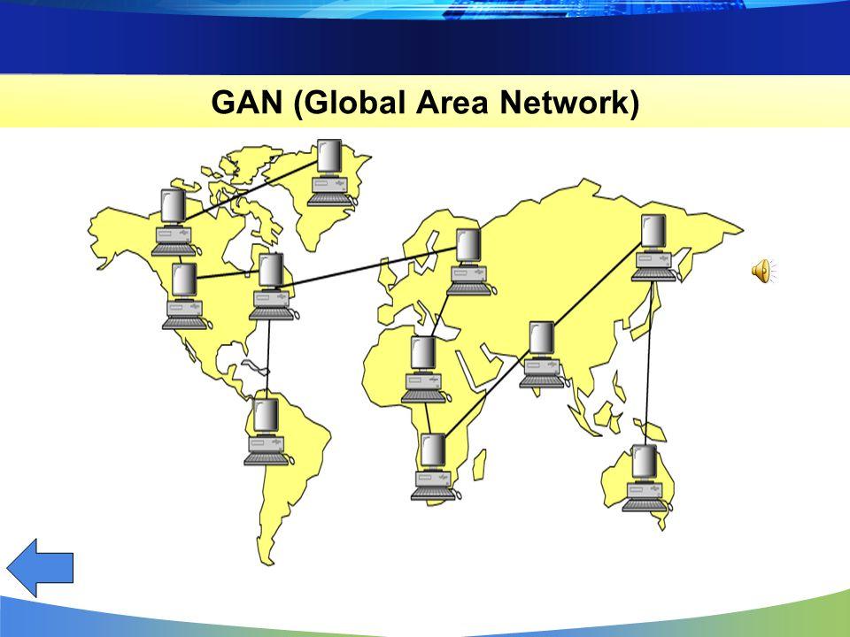 WAN merupakan jaringan komputer yang cakupannya lebih luas daripada MAN dan LAN. WAN biasanya digunakan untuk menghubungkan antar komputer yang satu d