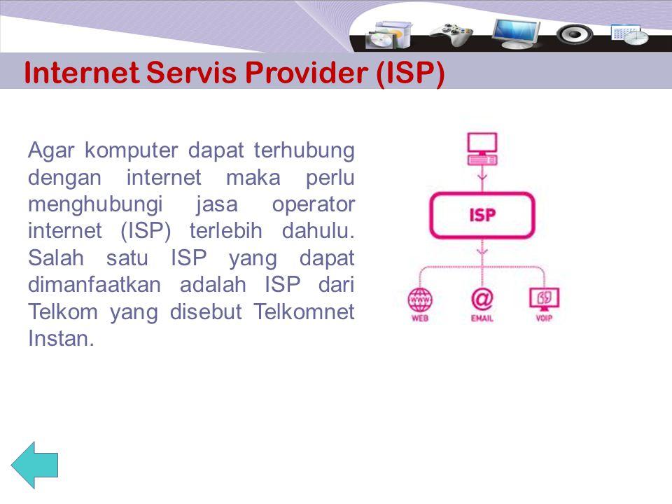 Software (Perangkat Lunak) Perangkat lunak yang diperlukan antara lain software sistem operasi, software router/gateway dan software browser. Software