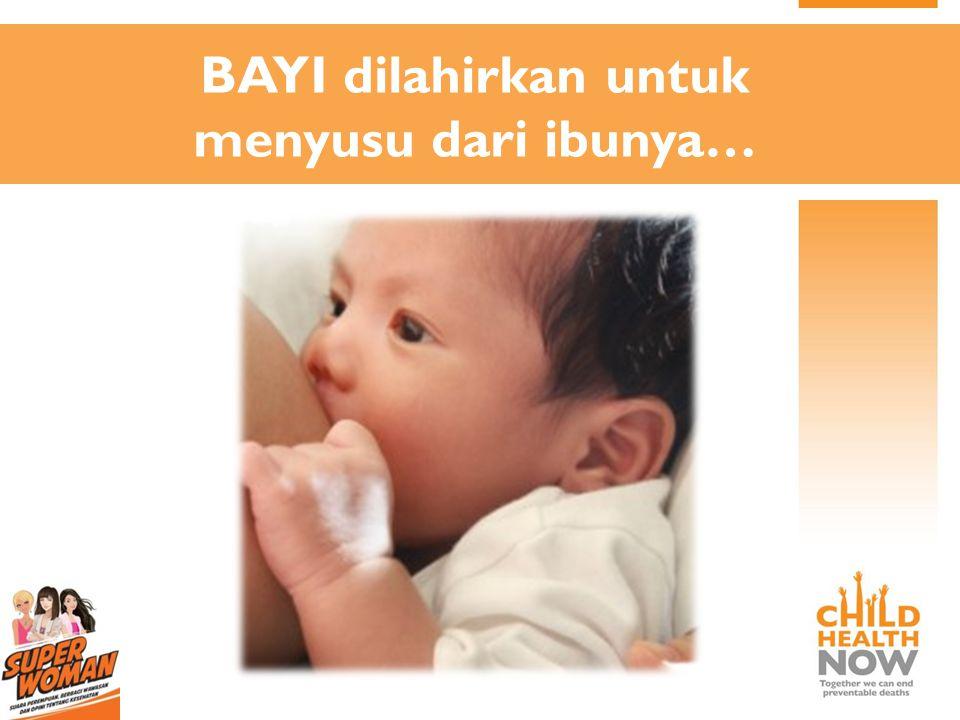 Prioritas Program Pemberian Makan Bayi dan Anak 1.Inisiasi Menyusu Dini 2.ASI Eksklusif 3.Makanan pendamping ASI yang tepat 4.Lanjutkan ASI setidaknya