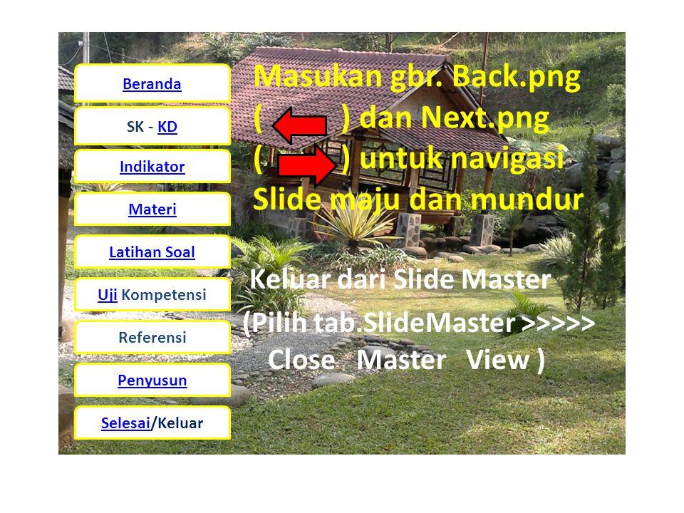 Beranda SK - KD Indikator Materi Latihan Soal UjiUji Kompetensi Referensi Penyusun Selesai/Keluar Masukan gbr.