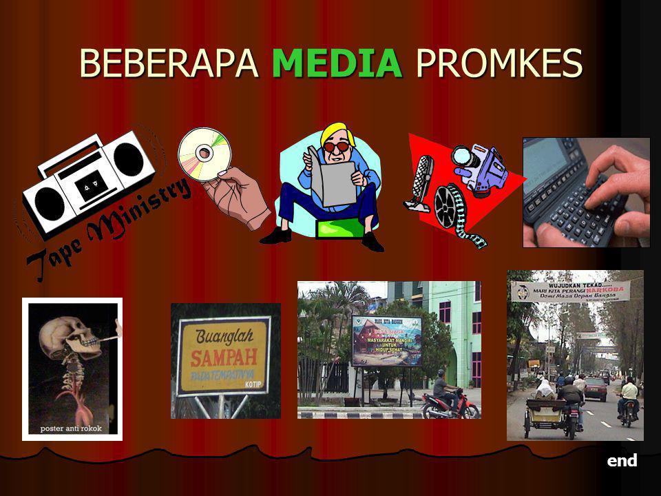 BEBERAPA MEDIA PROMKES end