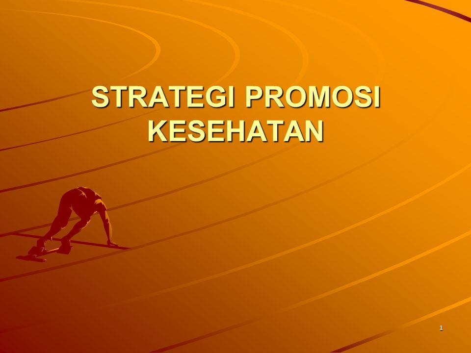 1 STRATEGI PROMOSI KESEHATAN