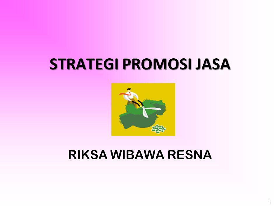 1 STRATEGI PROMOSI JASA RIKSA WIBAWA RESNA