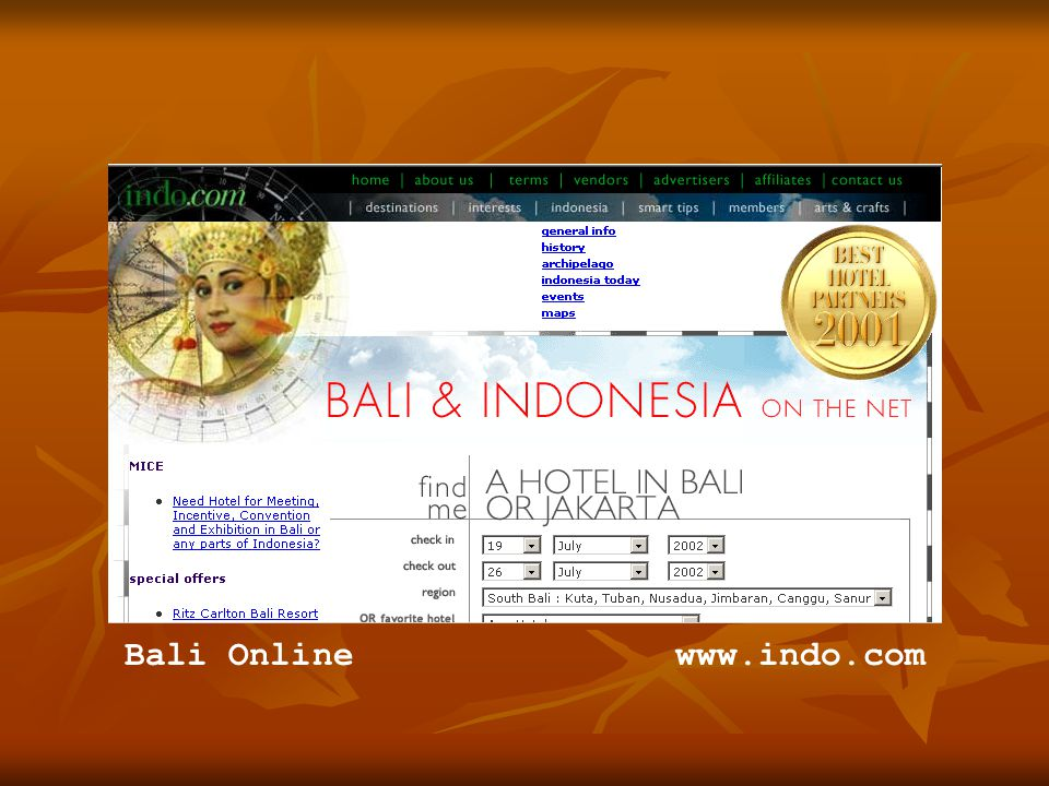 www.indo.comBali Online