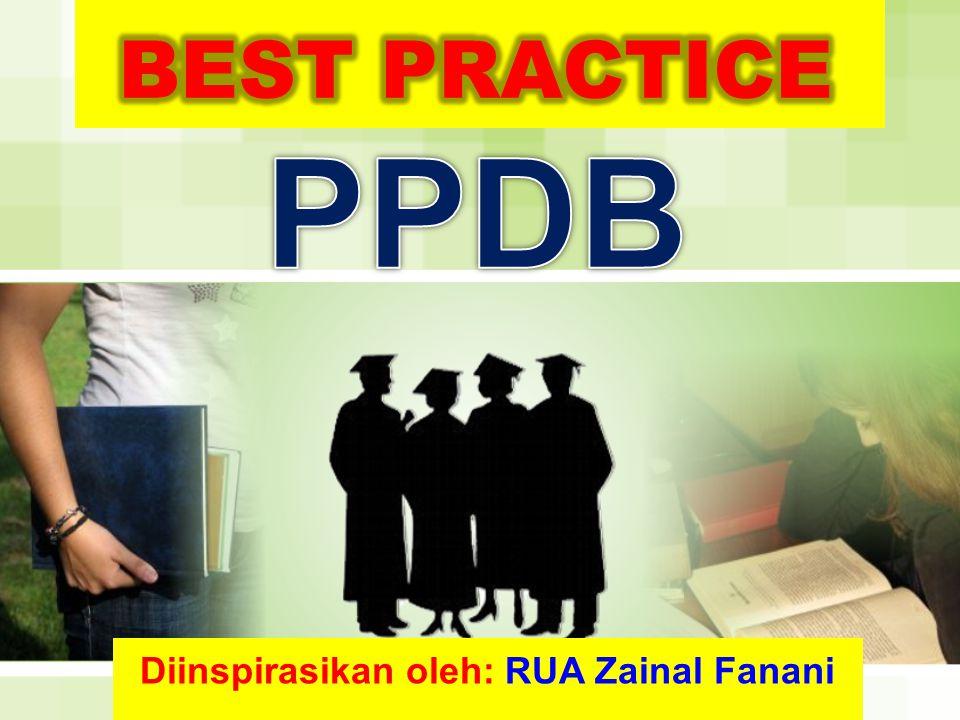 Diinspirasikan oleh: RUA Zainal Fanani