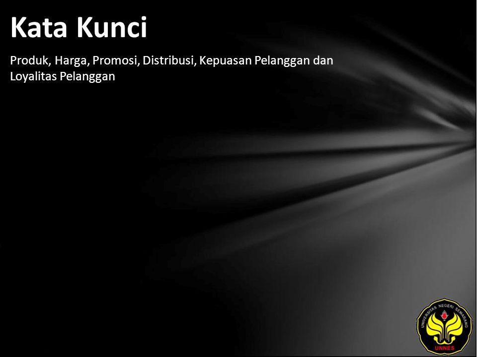 Referensi Alma, Buchari.2004. Manajemen Pemasaran dan Pemasaran Jasa.