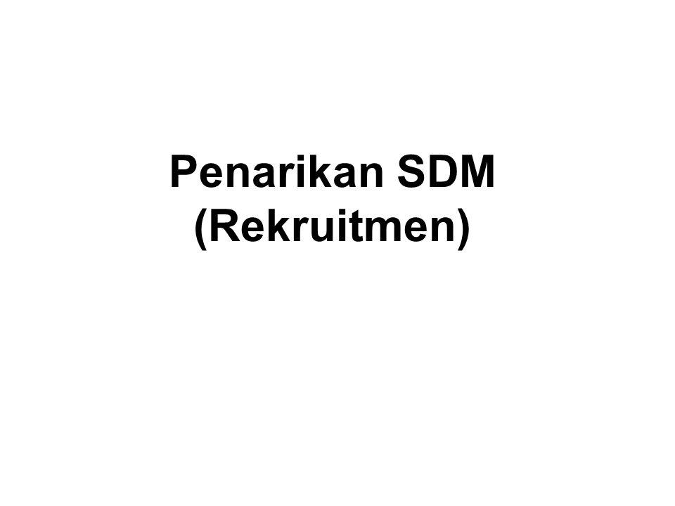 Penarikan SDM (Rekruitmen)