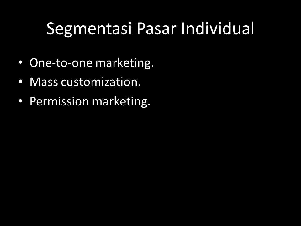 STRATEGI DISTRIBUSI • Konvensional Melalui perantara  Tidak langsung Tidak melalui perantara  Langsung • Nonkonvensional Pemasaran vertikal Pemasaran horisontal Pemasaran hibrid