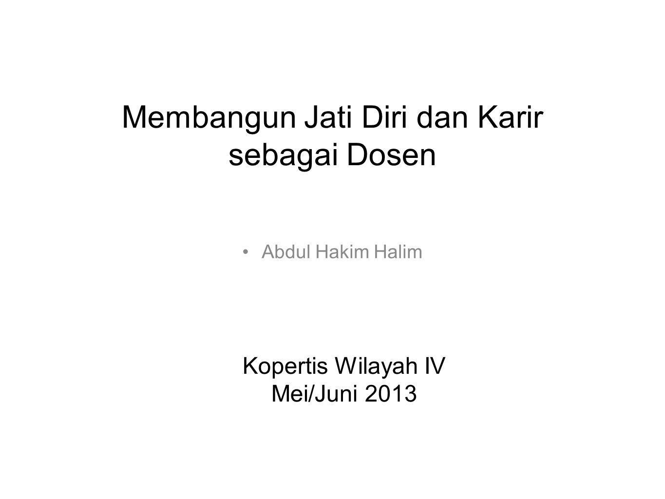 Dimensi kehidupan akademisi(1) Academic freedom Academic duty •Critics •Advocate •Mentor • Guardian •Enabler •Ambassador Role model 1.To teach 2.To mentor 3.To serve the university 4.To discover 5.To publish 6.To tell the truth 7.To reach beyond the wall 8.To change Academic duty Macfarlane, B., 2011, What are university professors for.
