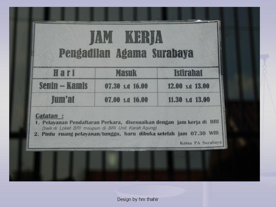 ABSENSI PEGAWAI Berdasarkan Pasal 5 KMA No. 071 tahun 2008 Daftar hadir dan Daftar pulang diatur sbb: 1. Penanggungjawab DH & DP adalah Ketua atau Wak