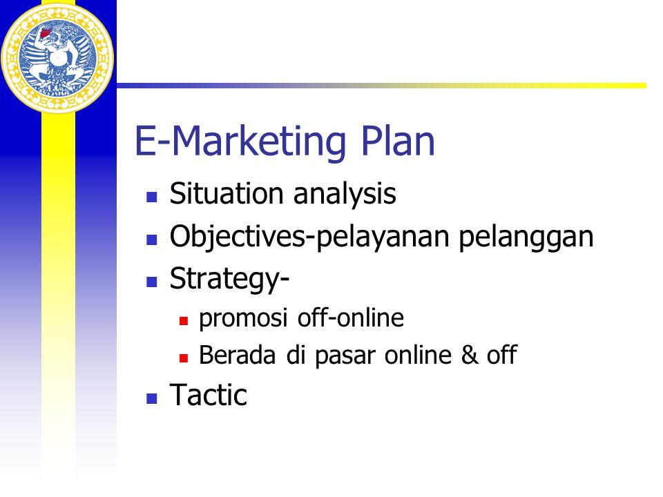 Web Promotion  Promosi offline  Promosi online  Elektronik  Internet