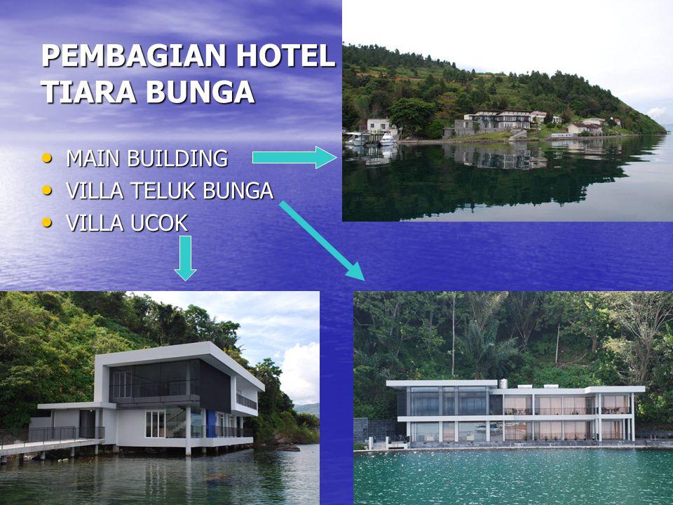 HOTEL TIARA BUNGA (MAIN BUILDING) • Presiden RI sudah pernah 2 kali mengunjungi dan tinggal di Hotel ini, pada tanggal 18 Maret 2005 dan November 2005, beserta rombongan Menteri, Gubsu dan tamu kenegaraan lainnya.