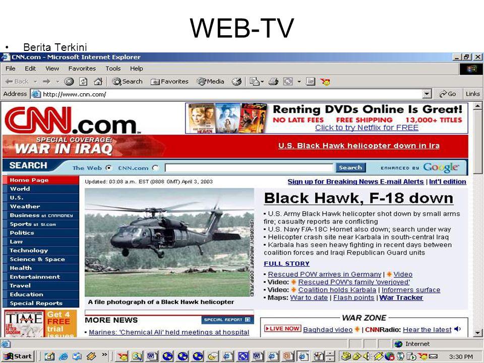 WEB-TV •Berita Terkini
