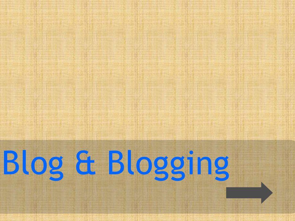 Apa itu blog? Blog About Post ?