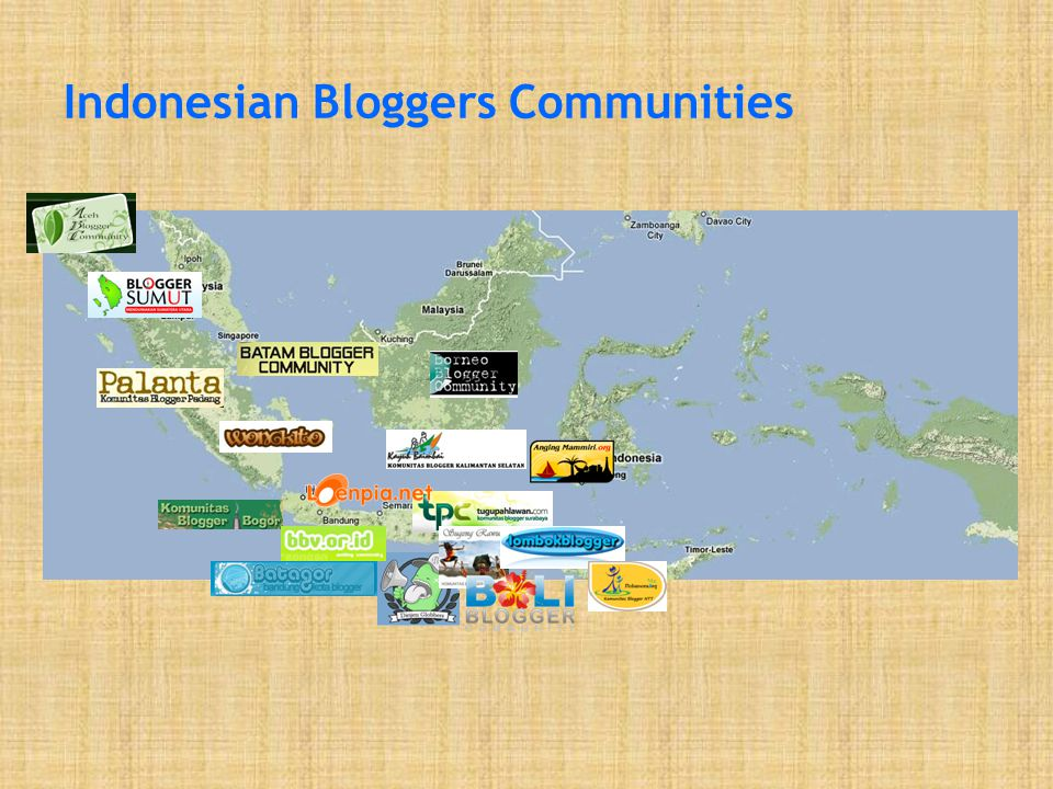 Indonesian Bloggers Communities