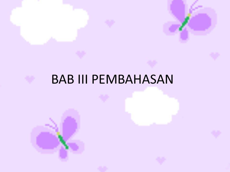 BAB III PEMBAHASAN