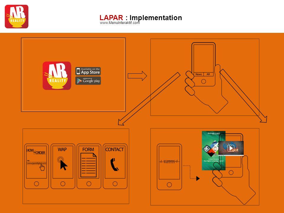 LAPAR : Implementation www.MenuInteraktif.com