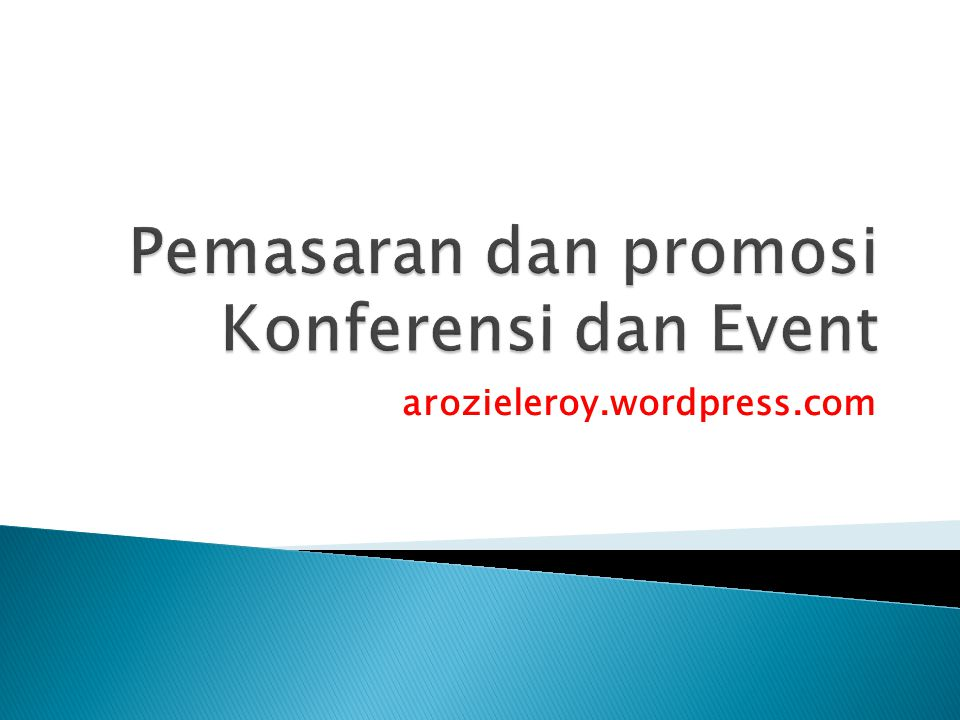 1.Periklanan (Advertising) 2. Promosi Penjualan 3.