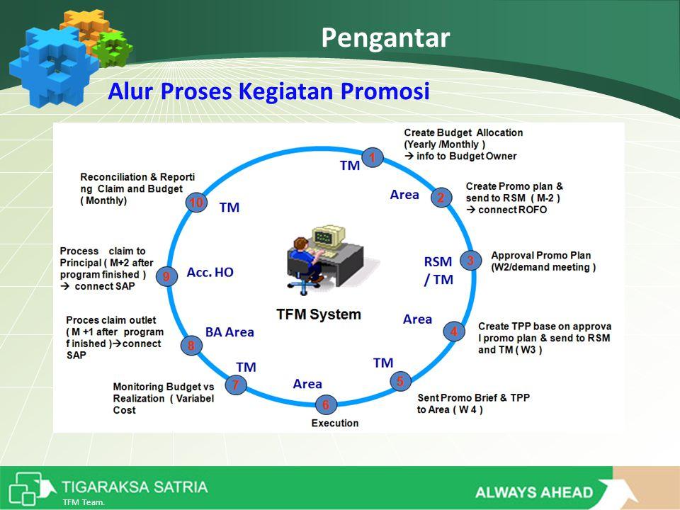 TFM Team. Pengantar Alur Proses Kegiatan Promosi